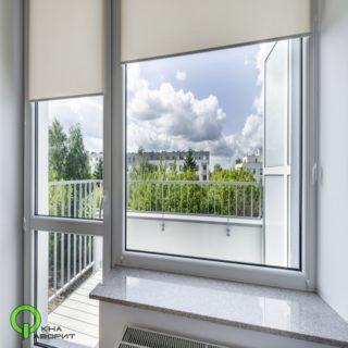 балконный блок с импостом