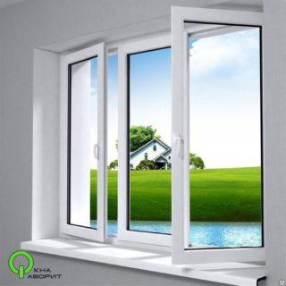 окно 2100*1400 2 створки