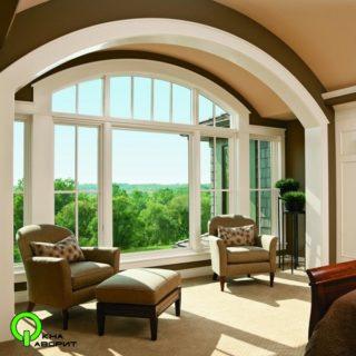 арочное окно 1